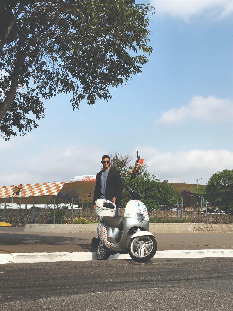 Riba inova no mercado com suas scooter elétricas