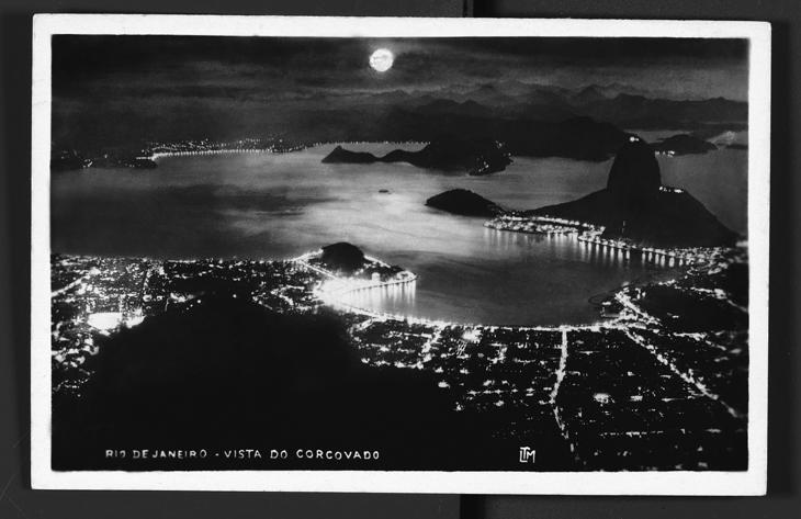Rio de Janeiro preto e branco em 1920