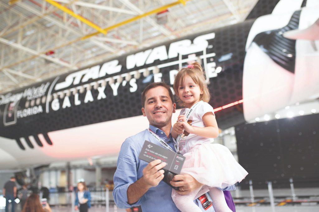 "Stars Wars agora ""tem"" seu avião na Latam"