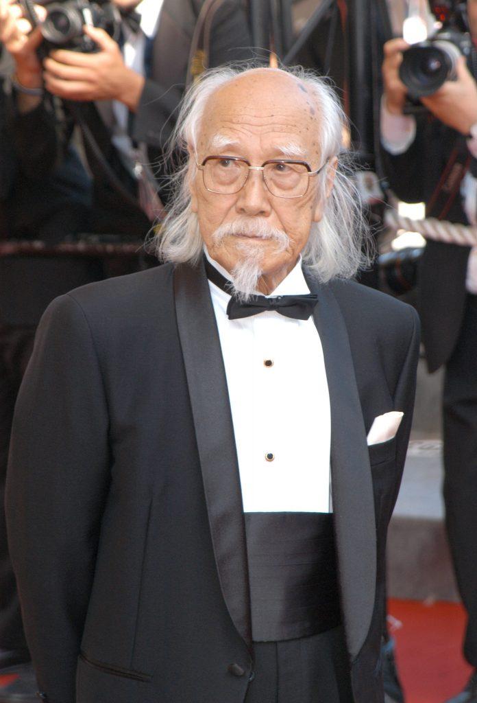 O diretor Seijun Suzuki. Foto: Reprodução