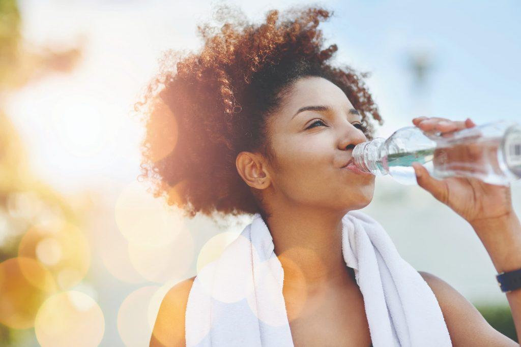 hidratação ideal