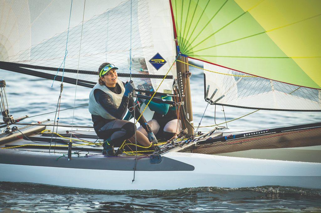 Isabel Swan, nas Olimpíadas de 2016, no Rio. Foto: Divulgação