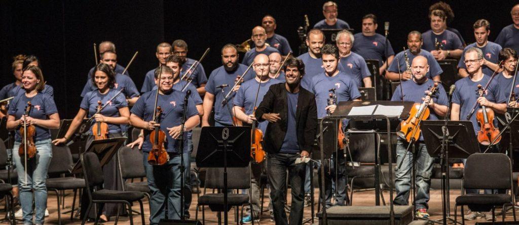 Orquestra Petrobras Sinfônica disponibiliza concertos no Youtube