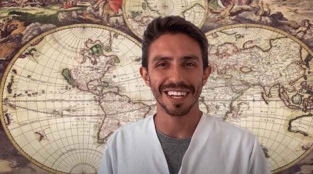 Professor Cauê Caic Gomes