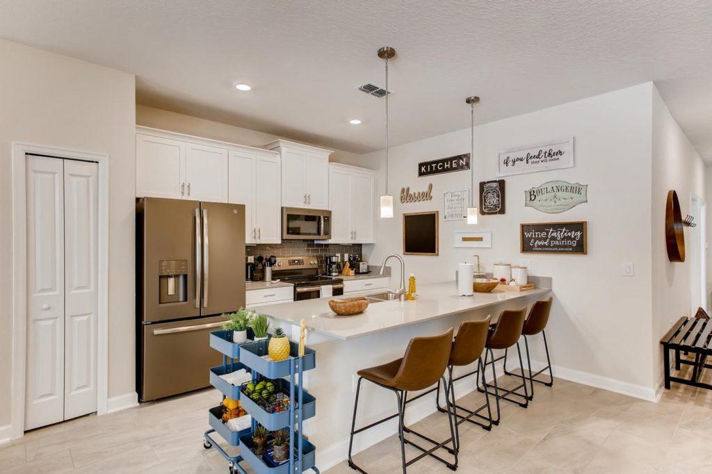 Exemplo de mudança na cozinha, projeto de Isabela Nalon