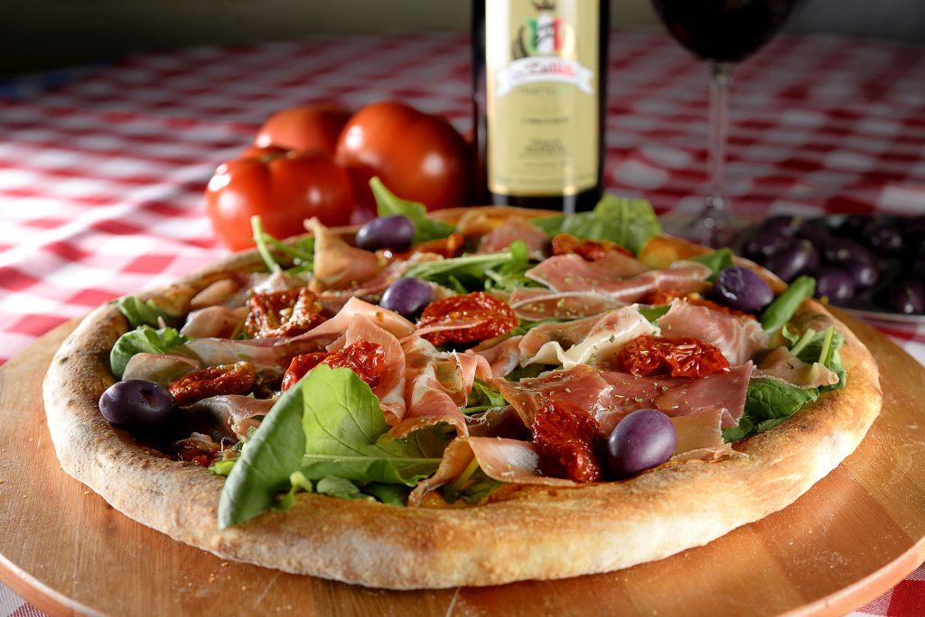 Pizza di Parma, da Lellis Pizzaria