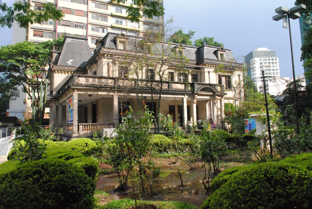 Casa das Rosas, em São Paulo